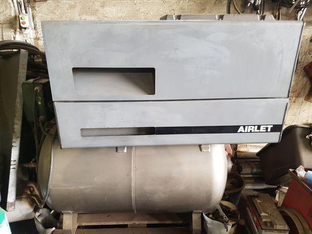 Kompresor Atlas Copco Airlet LE11 - 10,5kW - 500l - 10 bar- 1128 l/min