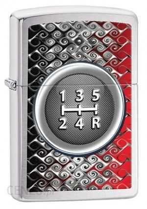 Zapalniczka ZIPPO Gear Shift Knob, Brushed Chrome