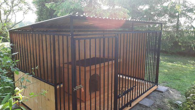 Kojec 3x2m. Kojce, boksy dla psa. Schowki drewniane,Pomieszczenia gosp