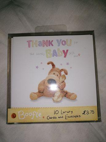 Zestaw kartek dla dzieci podziękowania z uk nowe wysyłka
