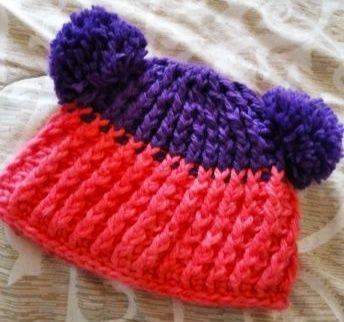 Новая утепленная шапка на девочку 6-8лет