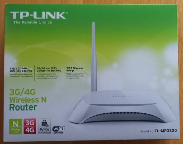 Router TP-LINK 3G/4G Wireless MR3220