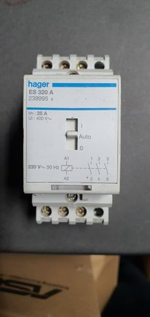 Contactor – Comando Manual 20A 3P 230V ES320A Hager