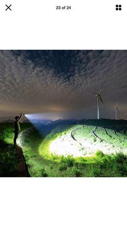 Zoom Lanterna de escalada noturna portátil ao ar livre Lâmpada