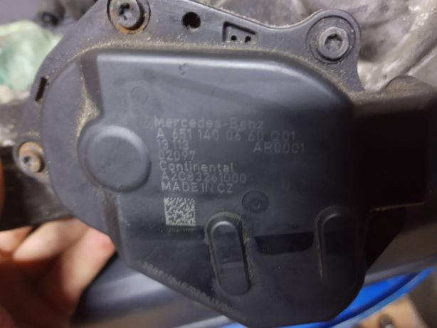 Клапан ЕГР Mercedes 2.2 cdi, om 651