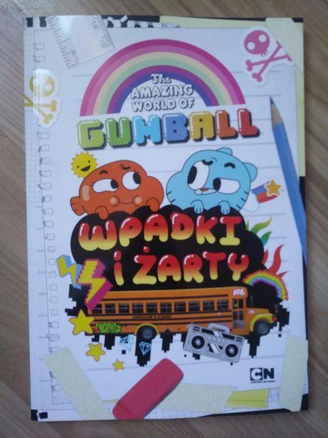 Książka Gumball Wpadki i żarty NOWA