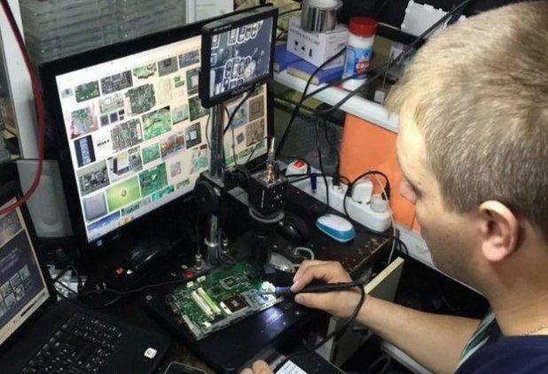 Срочный ремонт ноутбука компьютера выезжаю в любой район города