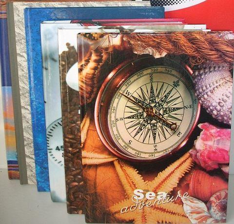 А4 общая Тетрадь в клетку, жесткая фото обложка, много листов