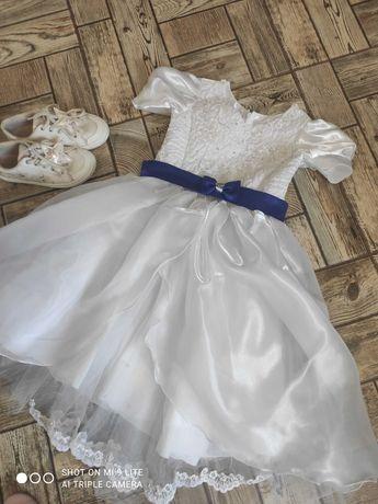 Нарядное платье,рост 128