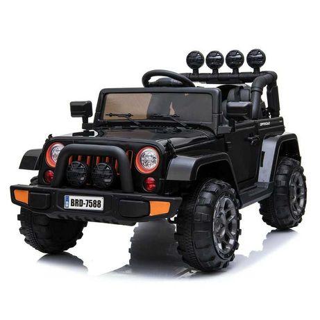MEGA JEEP auto na akumulator dla dzieci Funkcja Bujania 4 Silniki HIT