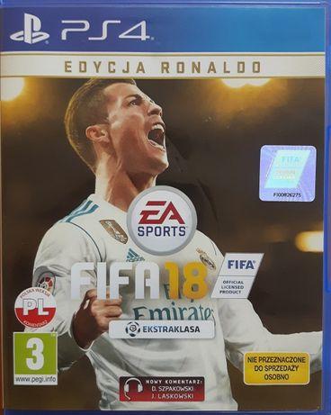 Gra na PS4 FIFA 2018