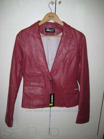 ДЕШЕВО продам итальянскую НОВУЮ куртку из натуральной кожи