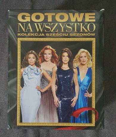 Gotowe na Wszystko, komplet, serial Desperate Housewives, sezon 1-6