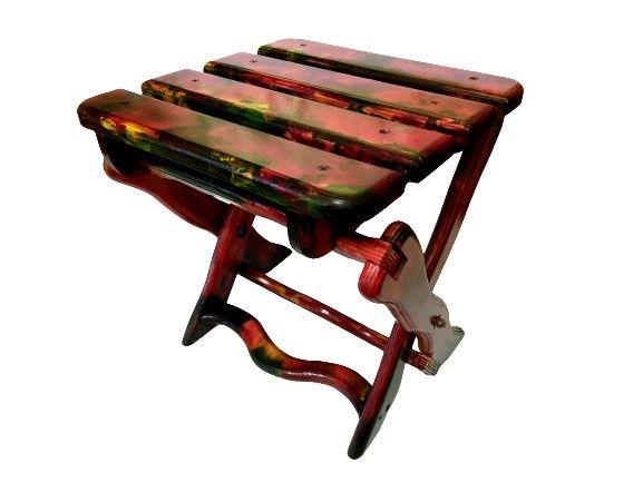 Раскладной стул ручной работы для дома, дачи, туризма, рыбалки, пикник