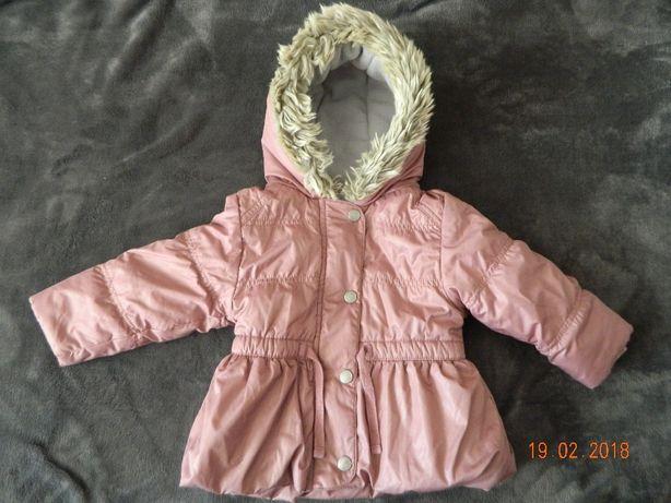 dla dziewczynki piekna kurtka NEXT 9-12 M-C