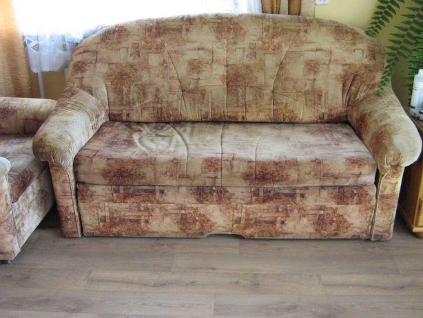kanapa rozkładana + fotele