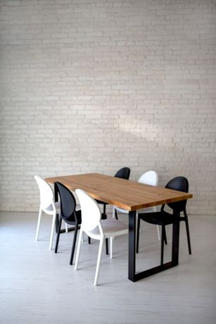 STÓŁ DĘBOWY NOWOCZESNY do jadalni na wymiar producent stół loftowy