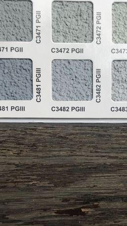 Farba fasadowa Knauf 45 litrów, nr C3482 PGlll, oraz  podkład 40kg