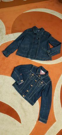 Піджак джинсовий на дівчинку