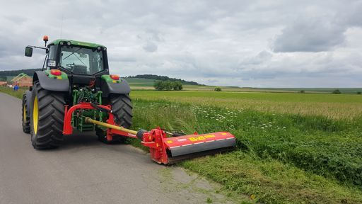 Koszenie mulczowanie traw łąk działek dróg rowów poboczy nieużytków