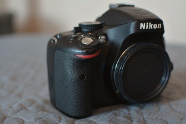 Nikon D5100 Body, przebieg 11 tys., stan bardzo dobry, ładow + bateria