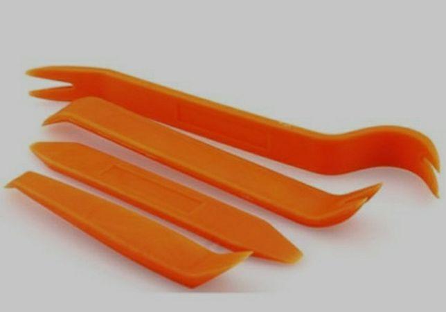Zestaw ściągaczy łyżek do tapicerki i spinek 5szt