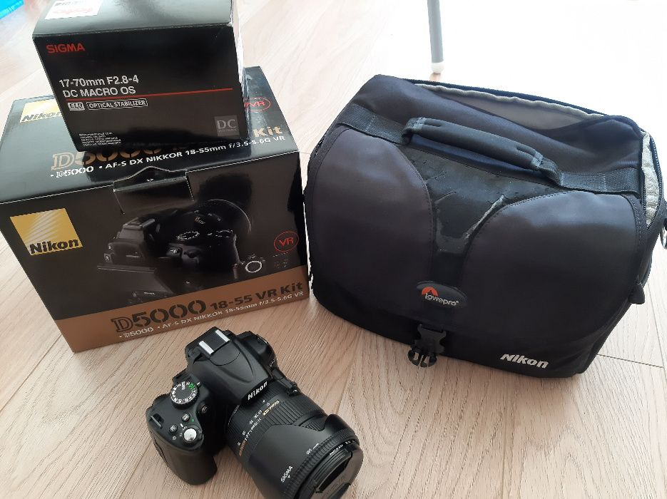 Nikon D5000 + Sigma 17-70 F2,8