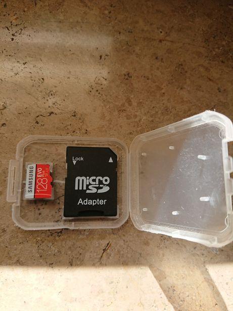 Karta micro Czerwona Samsung EVO Plus128 Gb 100/90 Mb/s