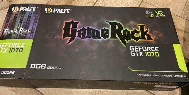 Видеокарта Palit gtx 1070 gamerock