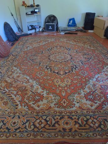 Par de tapetes persas feitos à mão 3.60m x 2.50m