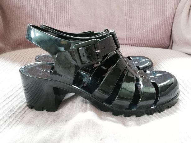 Sandały SELECT roz. 39 sandałki plastikowe, meliski, CREEPERSY