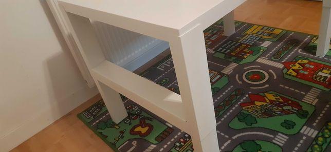 Biurko IKEA rególowane nóżki