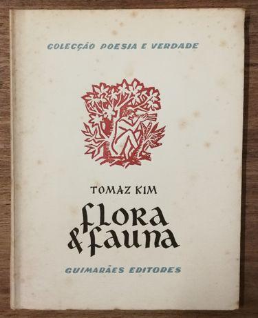 flora & fauna, tomaz kim, colecção poesia e verdade