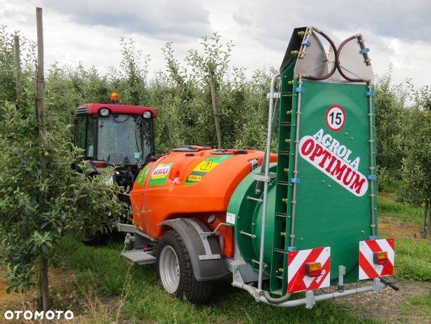 Agrola Optimum 1500v  Opryskiwacz sadowniczy przyczepiany, elektrozawory ARAG