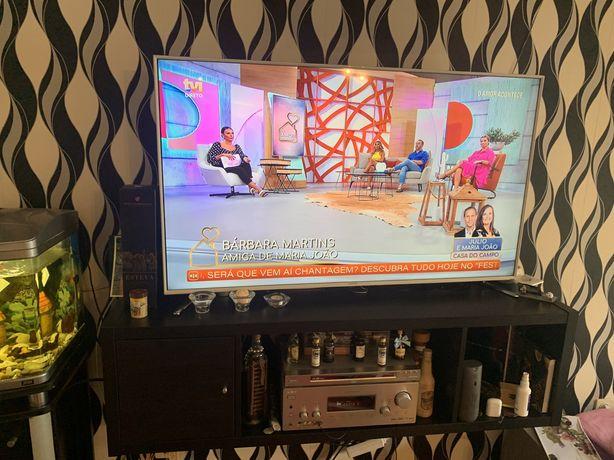 Smart tv 3 D   4 k  55 polegadas