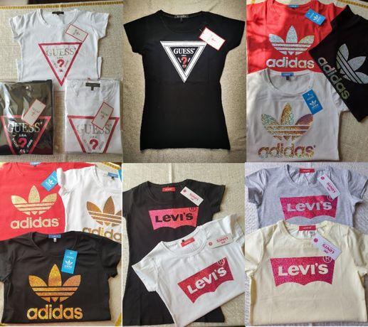 Koszulka koszulki Adidas damskie Gues Levis
