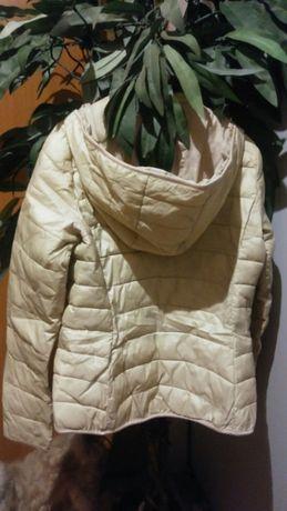 Modna jesienna pikowana kurteczka