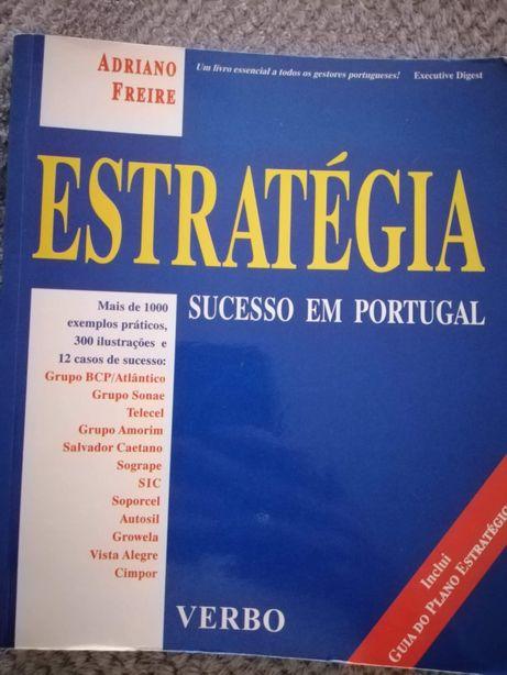 Livro ESTRATÉGIA Sucesso em Portugal de Adriano Freire