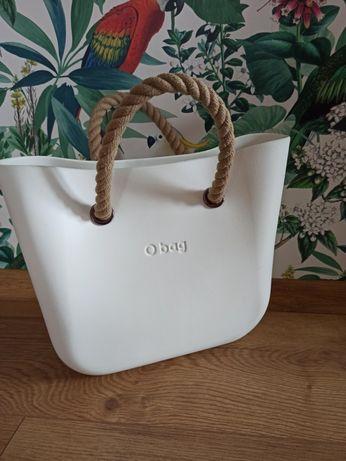 O bag mini biała liny