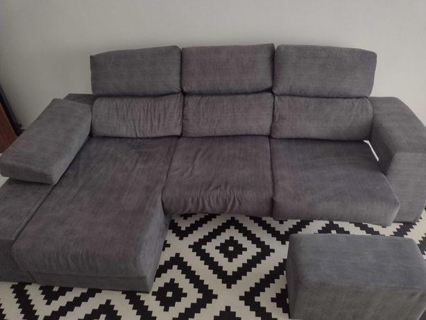 Sofá com chaise em ótimo estado