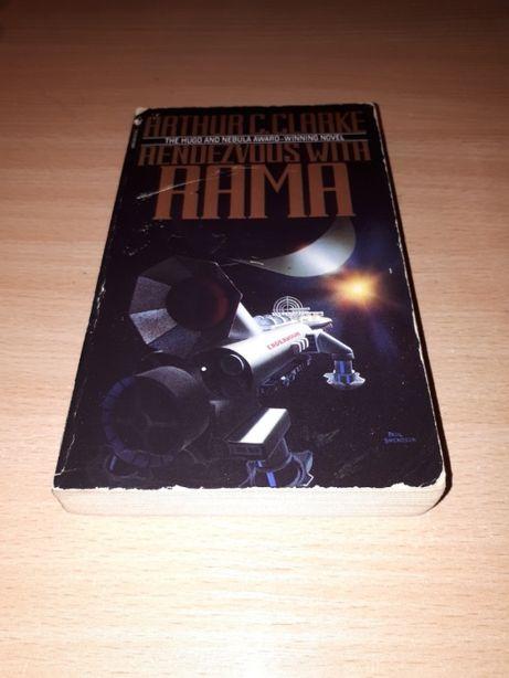 Rendezvous with Rama A.C. Clarke - powieść sci-fi