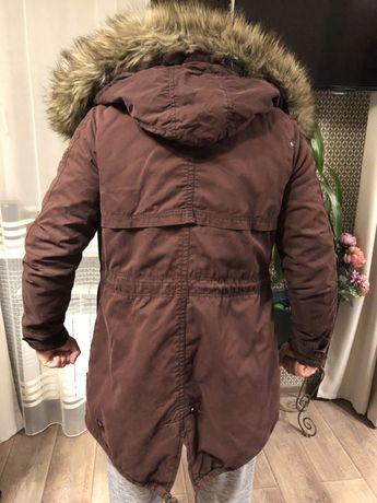 Куртка мужская длинная khujo Парка оригинал