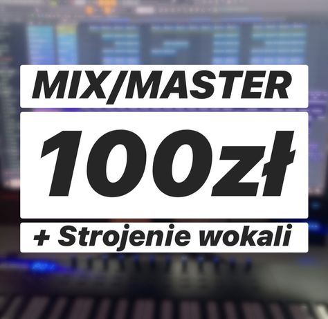 Mix/mastering wokali, strojenie - NextGen Production - Hip-hop, Trap