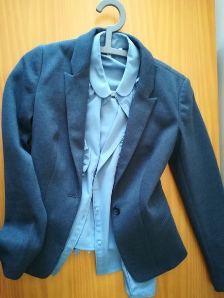 conjunto blazer e camisa