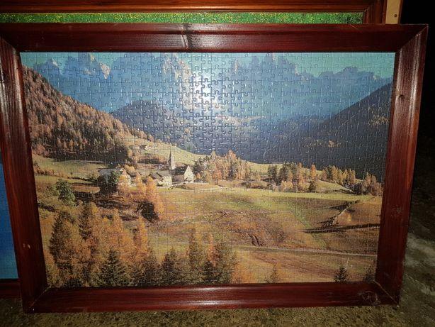Obrazy z puzzli różne rozmiary
