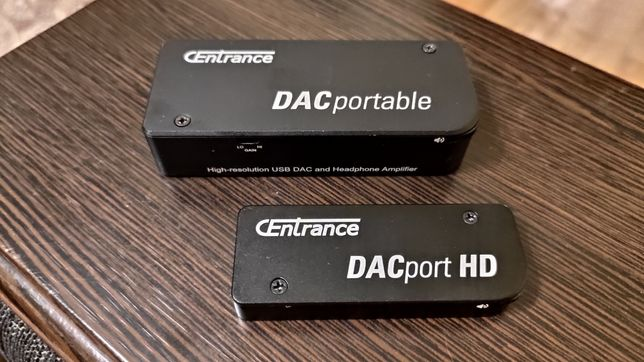 Твик, апгрейд цапа, усилителя для наушников Centrance DACportable, HD.