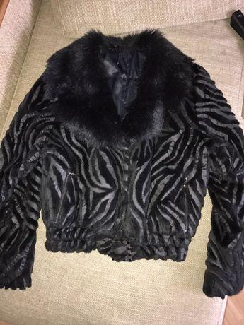 Куртка пальто полушубок