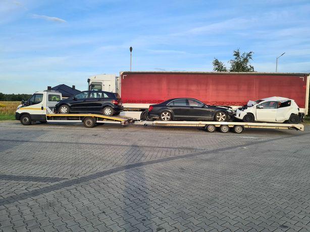 POMOC DROGOWA TANIO! Autolaweta transport autopomoc dłużyca laweta!