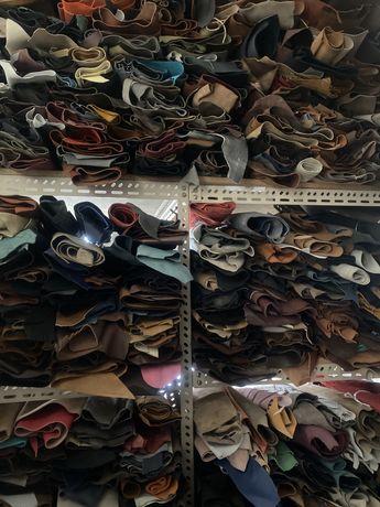 Peles e componentes para calcado e marroquinaria