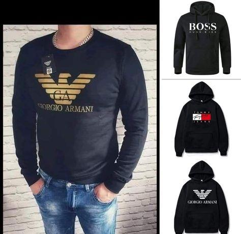 Bluzy meskie z logo Armanii Tommy boss kolory M-XXL!!!